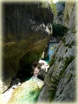 Randonnée verdon_Sentier blanc Martel_Les Randos de Loulou_Couloir samson