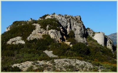Le Castrum Massiliensis, ancien château féodal de Saint-Marcel - Marseille