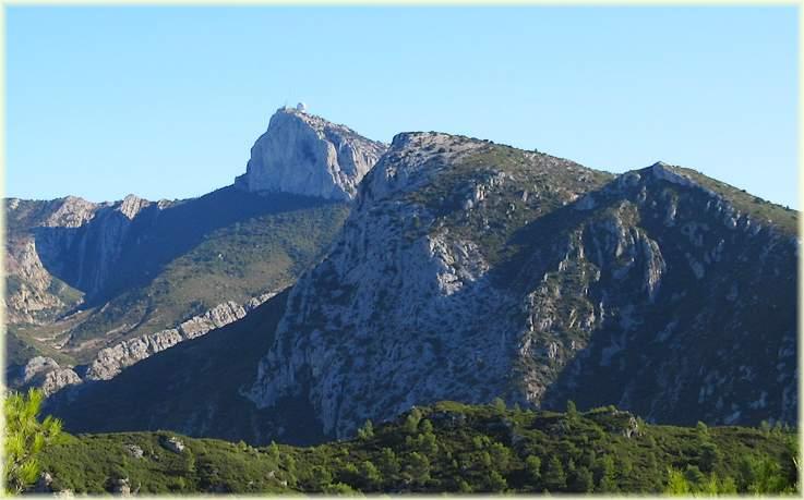 Randonnée Le Mont Cruvelier - Vue sur le Pic de Bertagne - Les Randos de Loulou
