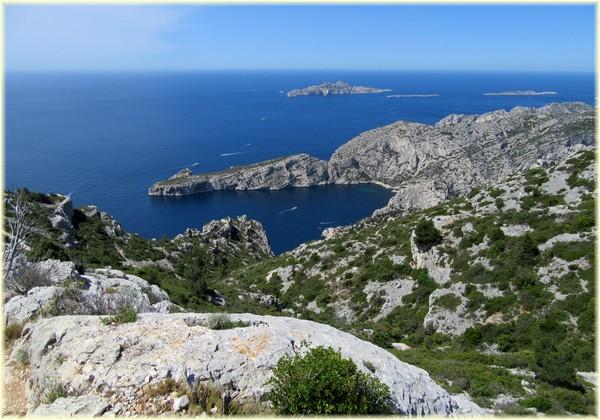 Cap Morgiou, Archipel de Riou - Calanques de Marseille