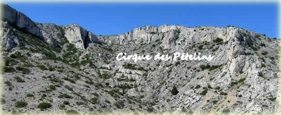 Cirque des Pételins - Calanques Marseille