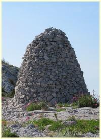 Randonnée Devenson Calanques - Cairn crête de l`Estret - Les Randos de Loulou
