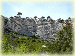 Le ravin des Encanaux, falaise des infernets - Randonnée Sainte Baume - Les Randos de Loulou