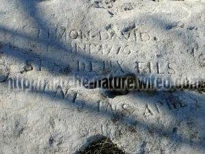 Gravures Mont Sainte-Croix_saint-Tronc_Marseille_ Les Randos de Loulou