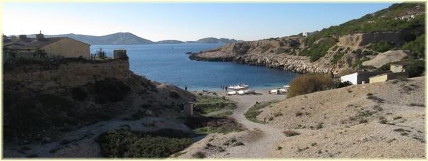 Rando calanque - La calanque de Marseilleveyre