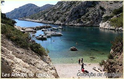 Randonnée cap morgiou Plage Calanque Morgiou - Les Randos de Loulou