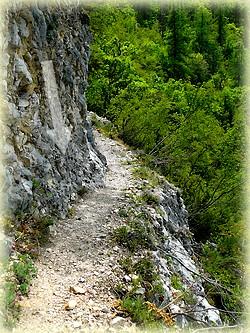Randonnée les gorges de Trévans_Les Randos de Loulou_passage avec cable